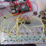 RaspberryPi -串聯二個74HC595範例