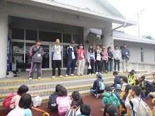 子ども体験塾に参加したジュニアリーダーたち