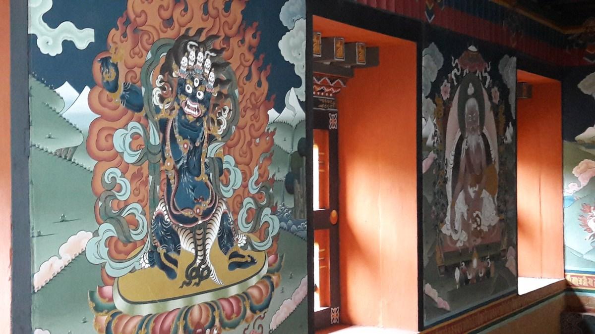 消失中的香格里拉【不丹】(2) – 不知道聽不懂的歷史典故