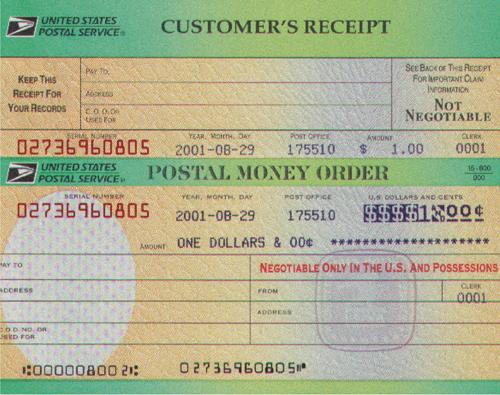 Money Orders Optimal Prime