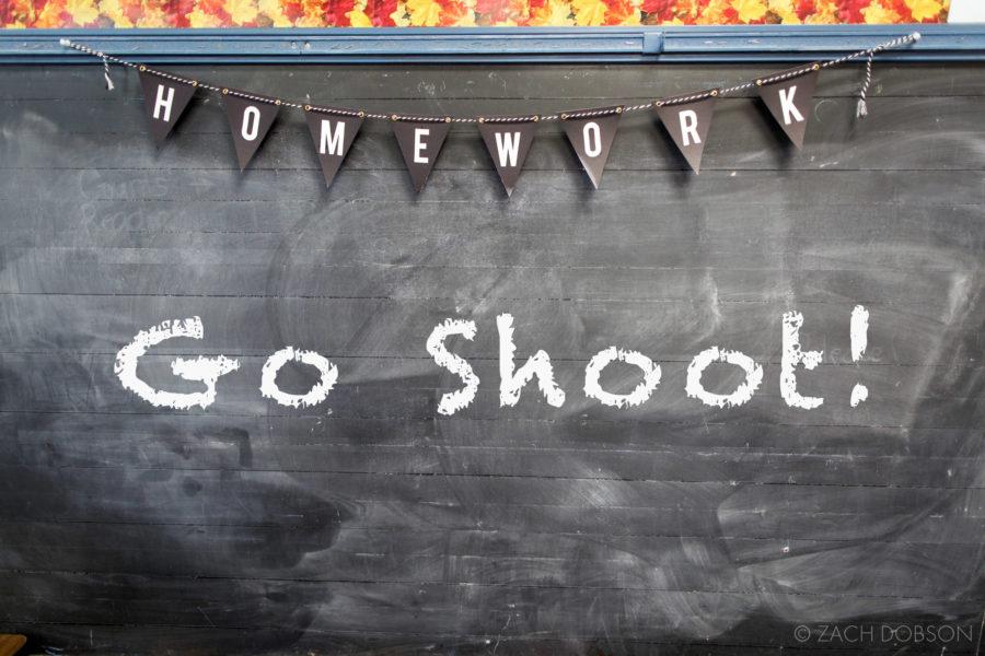 Advice for Student Photographers - GO SHOOT!