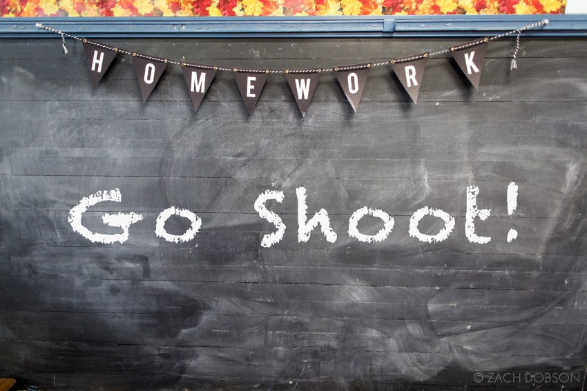Advice for Student Photographers - GO SHOOT!