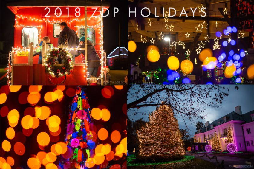 2018 Zach Dobson Photography holiday blog posts