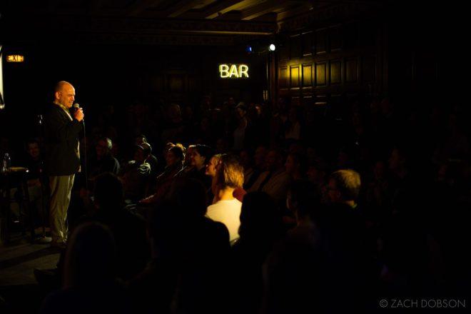 RIOT LA Comedy - low light post production - lightroom