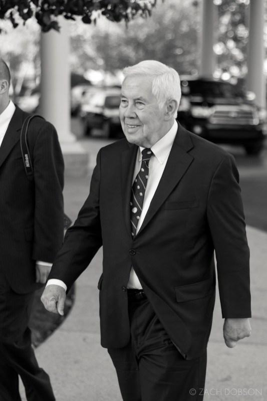 US Senator Richard Lugar