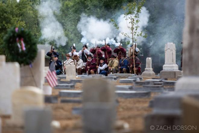 indianapolis indiana bethel cemetery civil war reenactors