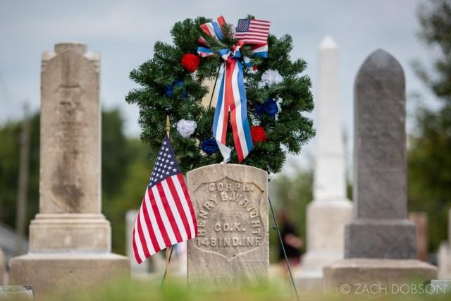 indianapolis indiana bethel cemetery civil war veteran