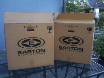 Easton EA70 XC Laufradsatz (2011er) - OVP