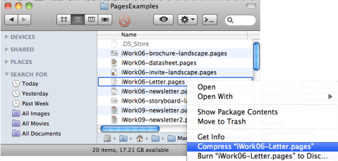 Convert iWork (Pages, Keynote, Numbers) files to MS Office - online