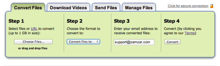 Video to MP4 - Step Three