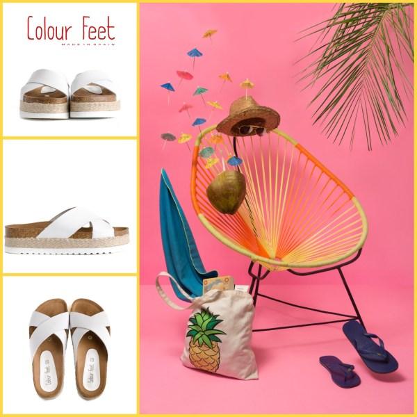Sandalias bio Colour Feet
