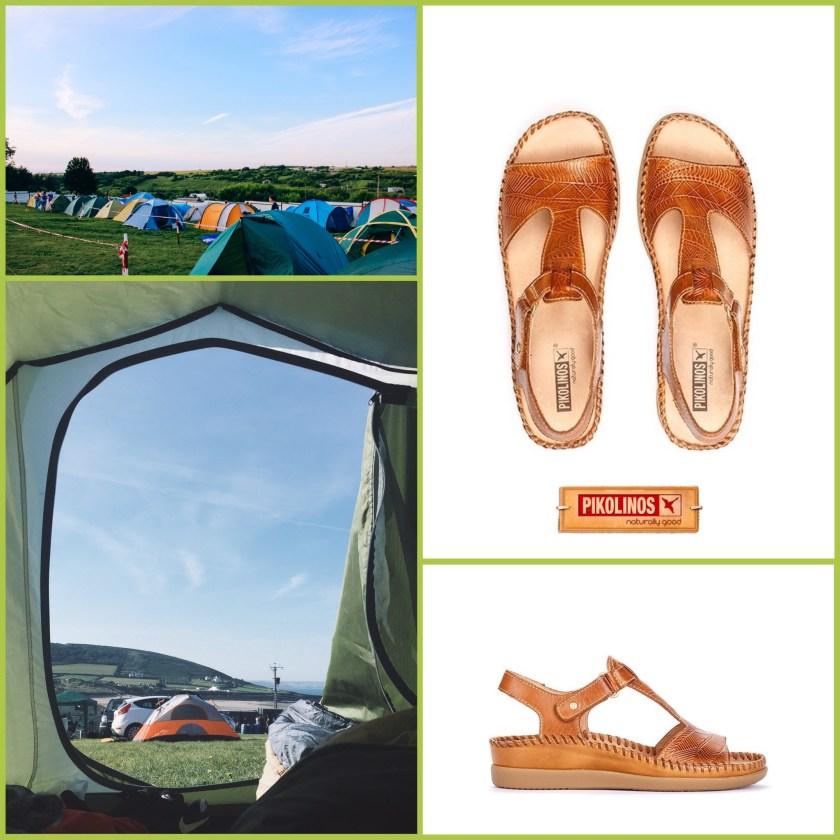 Si vas de camping opta por una sandalia Pikolinos.