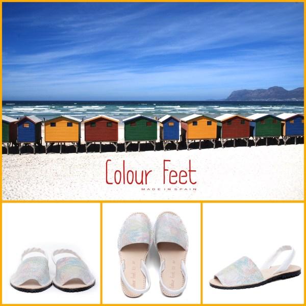 Menorquinas Colour Feet.