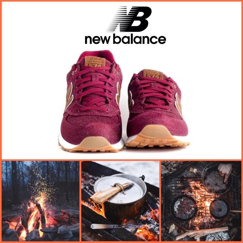 Deportivas para ir de camping New Balance.