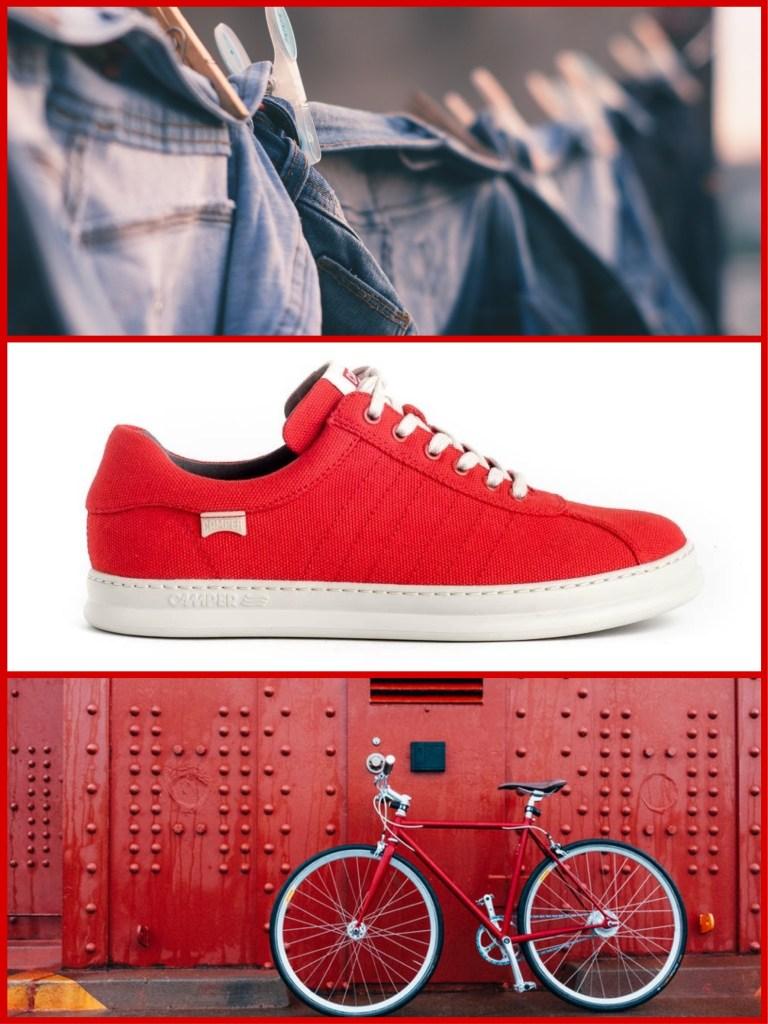 Deportivas Camper K100309-005 para chico en rojo