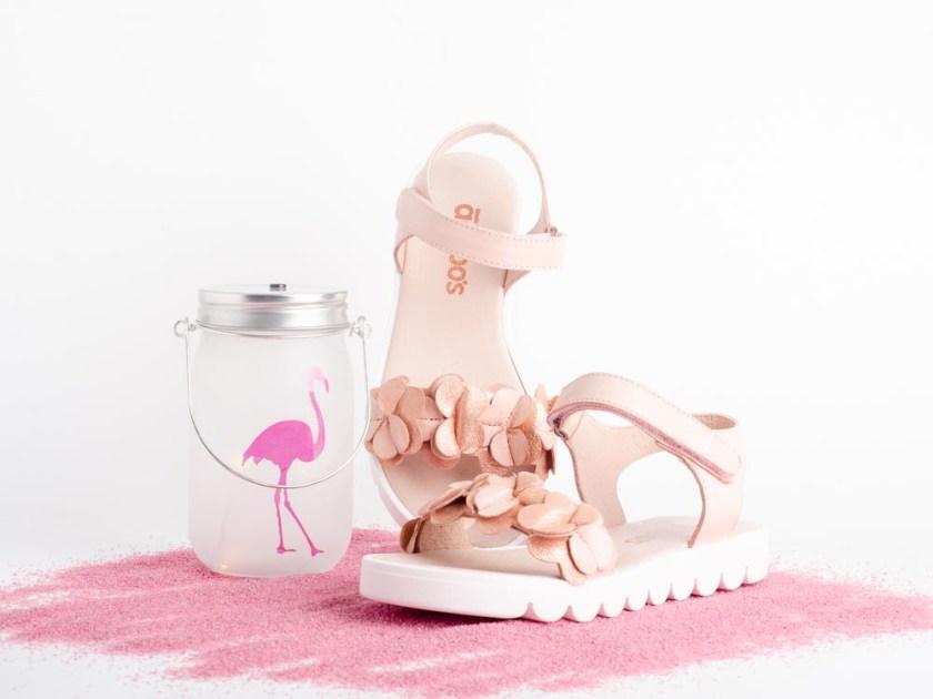 Sandalia infantil para niña Acebos 9653