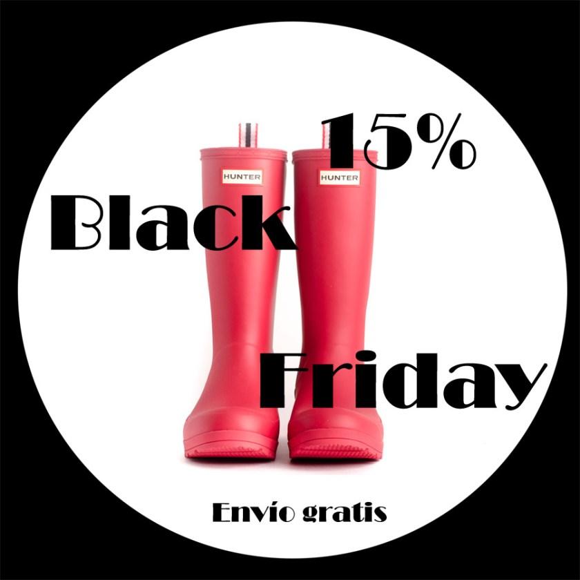 #BlackFriday -15% en las botas de agua Hunter.