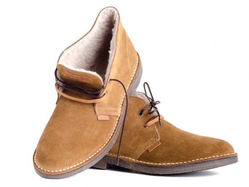 pisamierdas de ante para hombre Colour Feet MOGAMBO WARM tallas del 39 al 46.