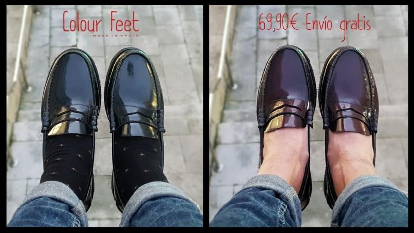 Colour Feet OXFORD, tallas del 39 al 47.