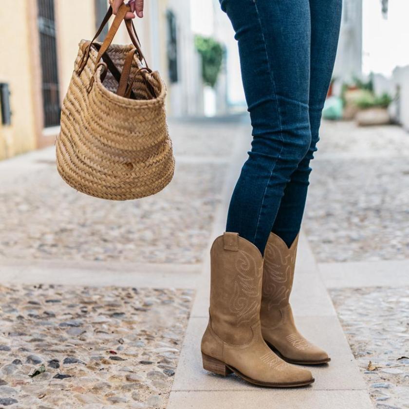Regalar el día de la madre botas estilo cowboy Bryan Stepwise