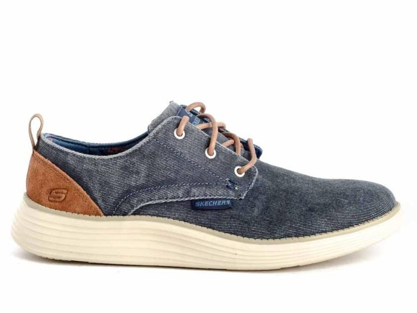 Zapatos estilo vaquero desgastado marca Skechers