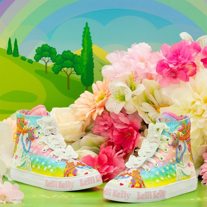 Especial moda niños, deportivas Lelli Kelly de unicornios.