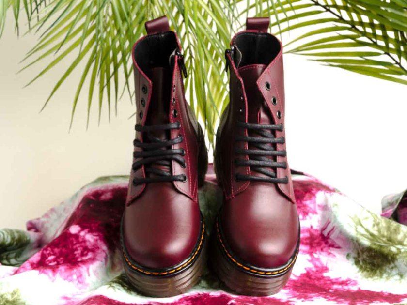 Combat boots granates