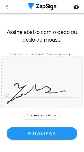 como fazer assinatura eletrônica