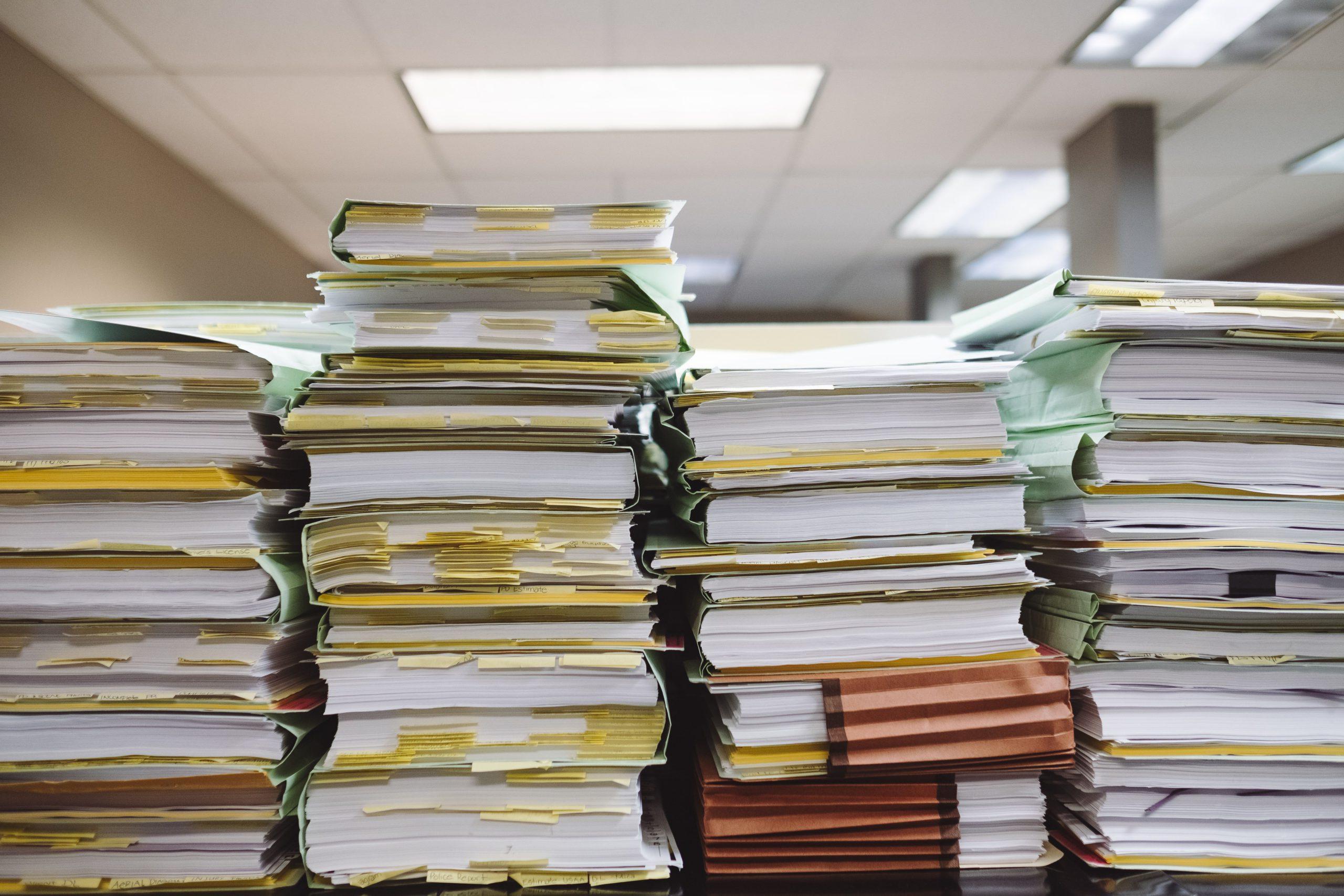 consequências da má gestão de documentos