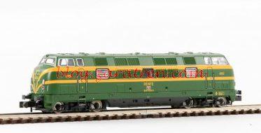 Fleischmann - Locomotora diésel serie D 340, RENFE, Escala N, Digital con Sonido, Ref: 725077.