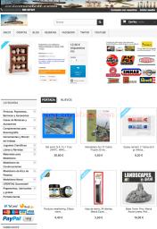 ociomodell.com - Todo lo que necesita para el modelismo. Plástico, decoración, pinturas, barcos, aviones, figuras, etc..
