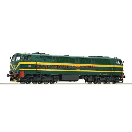 Roco - Locomotora Diésel 333, Colores Verde-Amarillo, RENFE, Analógica, Escala H0., Ref: 72975.