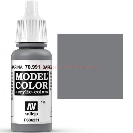Vallejo - Acrílico Model Color, Gris marina ( 159 ). Bote 17 ml., Ref: 70.991
