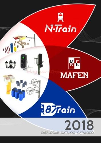 Mafen - Catálogo (Mafen, N-train, 8train) 2018