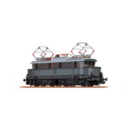 Brawa - Locomotora eléctrica EL E44, DRG, época II, Color Gris, Digital con Sonido, Escala N., Ref: 63101.