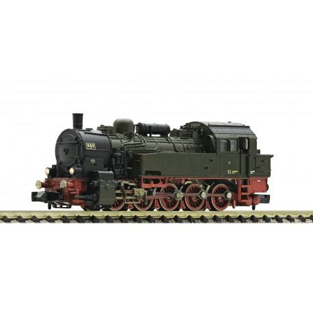 Fleischmann - Locomotora de Vapor T16.1, época I, K.P.E.V, Analógica, dos ruedas con aros de tracción, Escala N. , Ref: 709403.