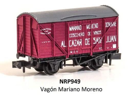 Peco - NRP949 Vagón Mariano Moreno, NRP955A - Vagón Agrícola Industrial, NRP955B - Vagón Agrícola Industrial
