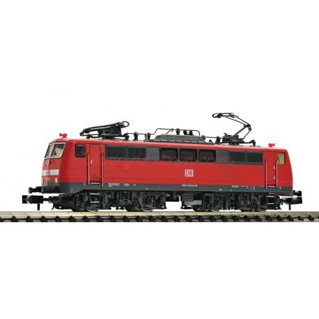 Fleischmann - Locomotora eléctrica clase BR 111, DB AG, Ref: 734603, analógica con conector NEM 651, escala N.