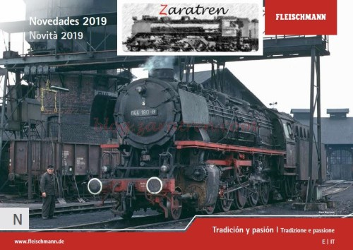 Fleischmann - Novedad, Catálogo 2019, Escala N