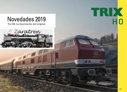 Trix - Catálogo novedades 2019, Escala H0