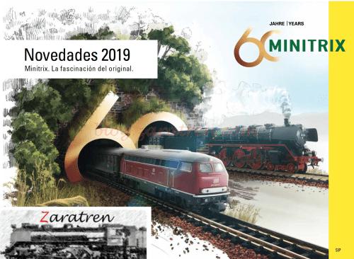 MiniTrix - Catálogo novedades 2019, Escala N