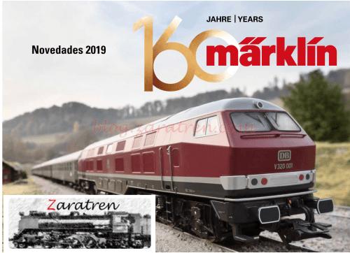 Marklin - Catálogo novedades 2019