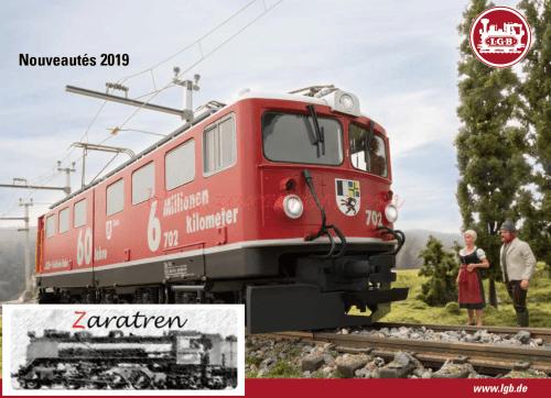 Catálogos - Novedad catálogo LGB 2019