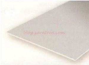 Evergreen - Planchas lisas, 0.13 mm , 15 x 30 cm. De Estireno. 3 unidades. Ref: 9009.