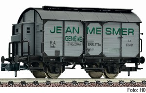 "Fleischmann - Vagón fudre de vino con puertas correderas, "" Jean Mesmer "", FS, Escala N, Ref: 845711."