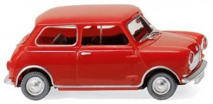 Wiking - Austin 7, Color Rojo, Escala H0, Ref: 022605.
