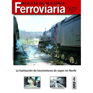 Revista de Historia Ferroviaria Nº25, 1º Semestre 2020. Editorial Maquetren.