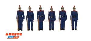 Aneste - Guardia Real en formación, 6 Figuras. Ref: 4430.