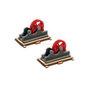 Proses - Carga de partes mecanicas, dos unidades, Escala H0, Ref: HL-K-01.Proses - Carga de partes mecanicas, dos unidades, Escala H0, Ref: HL-K-01.
