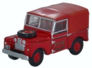 Oxford - Land Rover Serie 1, Cuerpo de bomberos, Escala N, Ref: NLAN188010.